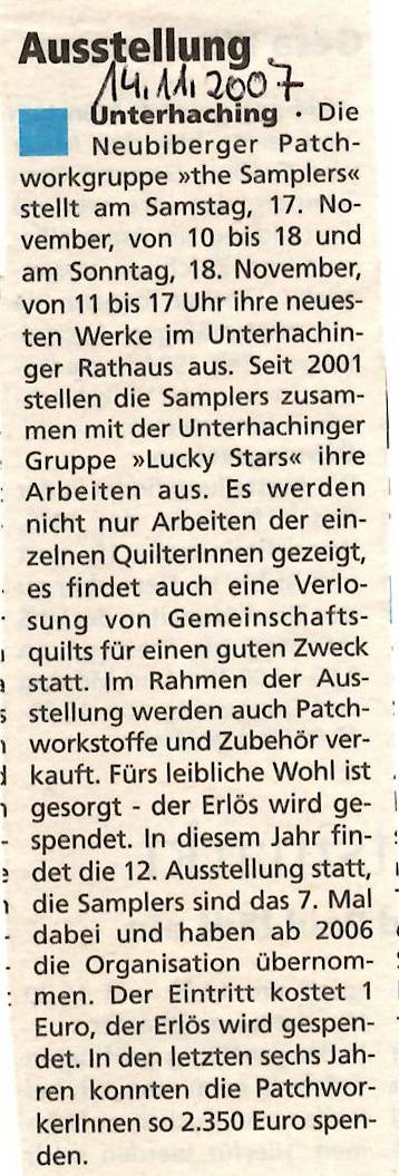 2007 Zeitung
